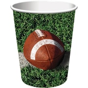 Creative Converting Football 9 oz. Hot/Cold Drink Cups, 8/Pack