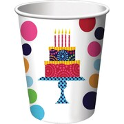 Creative Converting Cake Stand Drink Cups, 8/Pack