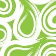 Creative Converting Fresh Lime Swirl 3-Ply Beverage Napkins, 16/Pack