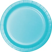 "Creative Converting Pastel Blue 9"" Round Dinner Plates, 24/Pack"