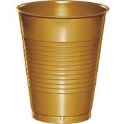 Creative Converting Glittering Gold Cups, 20/Pack