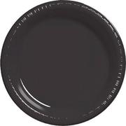 "Creative Converting Black Velvet 10"" Round Banquet Plates, 20/Pack"