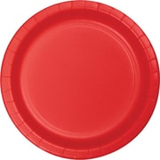 "Creative Converting Classic Red 10"" Round Banquet Plates, 24/Pack"