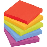 "Post-it® Super Sticky Notes, 3"" x 3"", Marrakesh Collection, 12 Pads/Pack (654-12SSAN)"