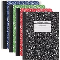 Staples® Composition Notebook, College Ruled, Blue, 9-3/4in. x 7-1/2in.