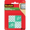 Scotch® Permanent Heavy Duty Mounting Squares, 1in. x 1in., 16/Pack