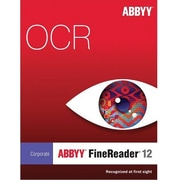 ABBYY FineReader 12 Corp Edition-4 Cores for Windows (1 User) [Download]