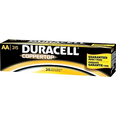 Duracell® Alkaline in.AAin. Batteries, 36/Pack