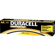 Duracell® Alkaline AA Batteries, 36/Pack