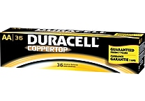Duracell® Alkaline 'AA' Batteries, 36/Pack