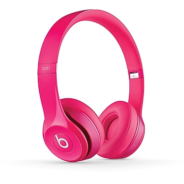 Beats by Dr. Dre Solo 2 On-Ear Headphones, Pink