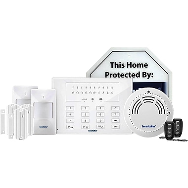 SecurityMan® Air-AlarmIIDL Deluxe Kit of D.I.Y. Wireless Smart Home Alarm System