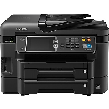 Epson® WorkForce WF-3640 Wireless All-in-One Colour Inkjet Printer with AirPrint
