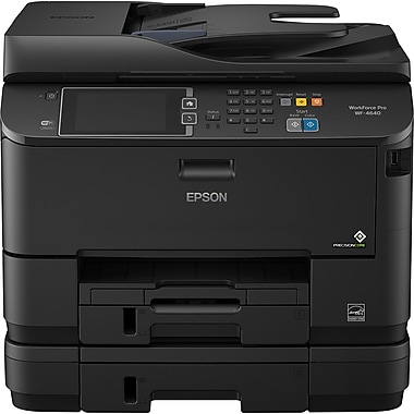 Epson® WorkForce Pro WF-4640 Wireless All-in-One Colour Inkjet Printer with AirPrint