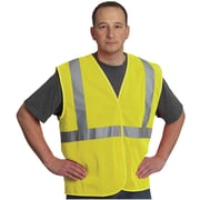 Protective Industry Products ANSI Class 2 Mesh Safety Vest, Yellow, Medium