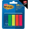 Staples® Stickies™ 1/2 in Page Flags, 125 Flags/Pack