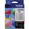Brother LC203 Black Ink Cartridge (LC203BKS), High Yield
