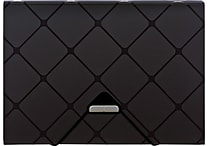 Pendaflex® 7-Pocket Expanding File, Letter Size, Black, Each (55633BLA)