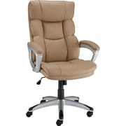 Staples® Burlston Luxura Managers Chair, Camel