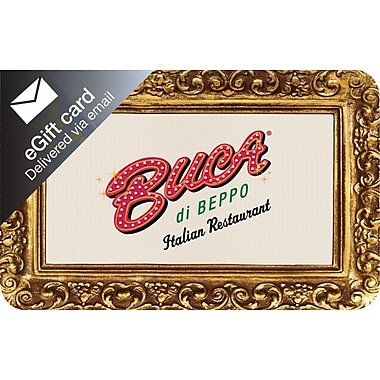 Buca di Beppo Gift Card 25 Email Delivery