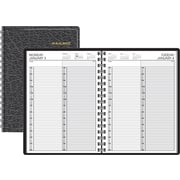 "2016 AT-A-GLANCE® Two-Person Daily Appointment Book Planner, 8"" x 10 7/8"", Black (70-222-05-16)"
