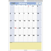 "2016 AT-A-GLANCE® QuickNotes® Wall Calendar, 15 1/2"" x 22 3/4"", Blue/Yellow, (PM54-28)"