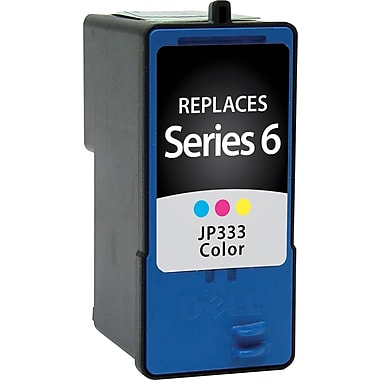 Staples Remanufactured Tricolor Ink Cartridge, Dell Series 6 (SID-RJF333DS)
