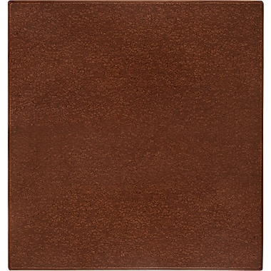 Anji Mountain Cork Chair Mat, Rectangular, 42in. x 44in., American Walnut