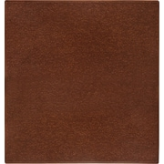 Anji Mountain Cork Chair Mat, Rectangular, 42 x 44, American Walnut
