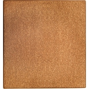 Anji Mountain Cork Chair Mat, Rectangular, 42 x 44, Honey Maple