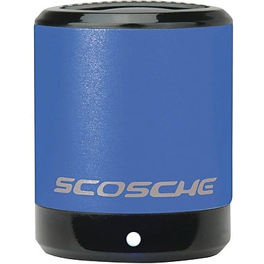 Scosche BoomCan Portable Speaker, Blue