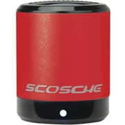 Scosche BoomCan Portable Speaker, Red