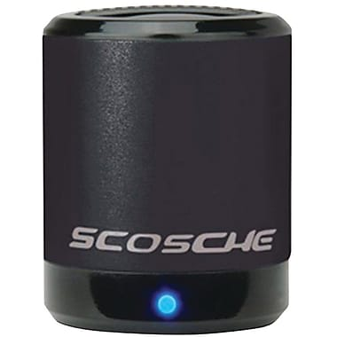 Scosche BoomCan Portable Speaker, Black
