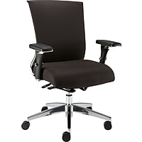 Staples Professional Series 1100TF Fabric Back Task Chair (Black)
