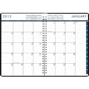 House of Doolittle™ 2015 Daily/Monthly 24-7, January-December, Planner, Black/Blue, 7 x 10