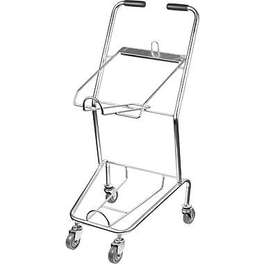 2-Tier Chrome Shopping Cart