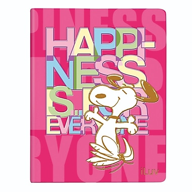 iLuv AP5SNOFPN Snoopy Folio iPad Air, Pink