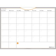 "AT-A-GLANCE® WallMates™ Self-Adhesive Dry-Erase Monthly Planner, 18"" x 24"", Undated, Bilingual"