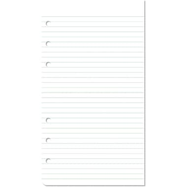 Day-Timer® Multi-Purpose Lined Pad Paper, 24-Sheet Pads, 2/Pack