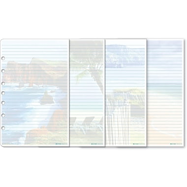 Day-Timer® Coastlines® Themed Refill Desk Note Pads