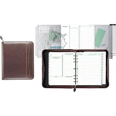 Daytimer® Sienna Simulated Leather Planner, 8.5