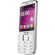 BLU Diva X T372T Unlocked GSM Dual-SIM Cell Phone, White
