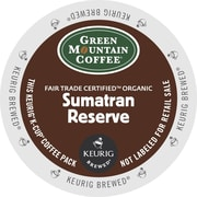 Green Mountain Coffee® Organic Sumatran Reserve Coffee K-Cup® Packs, 96/Ct
