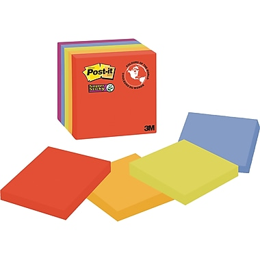 Post-it® Super Sticky Notes, Marrakesh Collection, 3