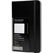 Moleskine 2015 Dashboard Planner, Black, 5 x 8-1/4, 12M Dashboard Planner