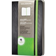 Moleskine Evernote Business Notebook with Smart Stickers, Hard Cover, Large, Black, 5 x 8.25