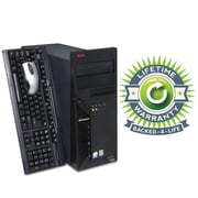 Refurbished Lenovo C2D Tower, 80GB Hard Drive, 2GB Memory, Intel Core 2 Duo, Win 7 Pro, Lifetime Warranty