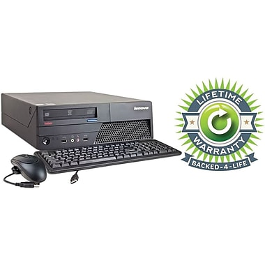 Refurbished Lenovo C2D SFF 160GB Hard Drive, 4GB Memory, Intel Core 2 Duo, Win 7 Pro, Lifetime Warranty