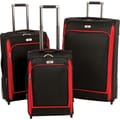 Swiss Legend 3-Piece Wheeled Expandable Luggage Set