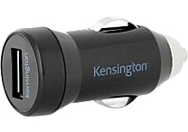 Kensington K39665AM PowerBolt 1.0 PowerWhiz Fast Car Charger